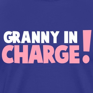 GRANNY IN CHARGE! T-Shirts - Men's Premium T-Shirt
