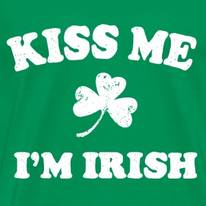 Irish Kiss Me T-Shirts - Men's Premium T-Shirt