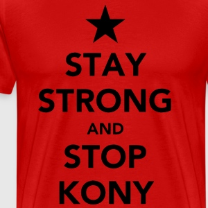 Stay Strong And Stop Kony Tee - Men's Premium T-Shirt