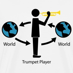 Trumpet and the wrold T-Shirts