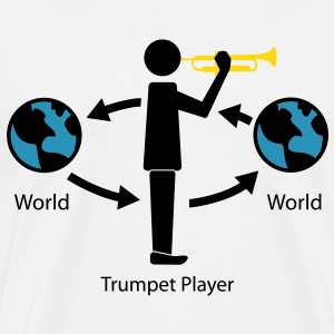 Trumpet and the wrold T-Shirts - Men's Premium T-Shirt