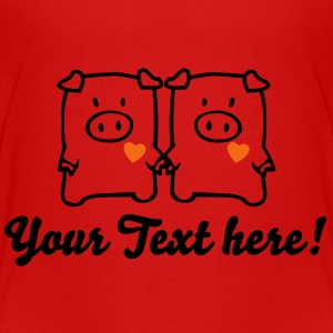 two cute pigs Toddler Shirts - Toddler Premium T-Shirt