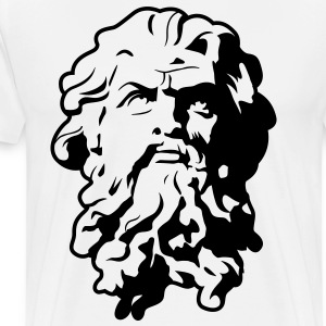 Poseidon HD VECTOR T-Shirts - Men's Premium T-Shirt