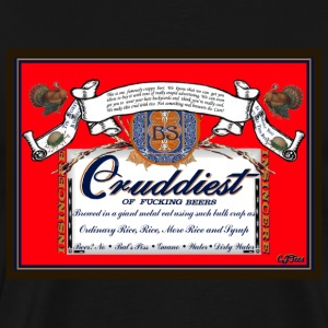 Crud 'Beer' - Men's Premium T-Shirt