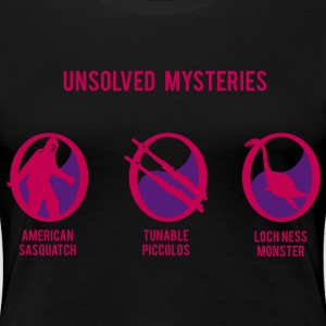 piccolo unsolved mystery  Women's T-Shirts - Women's Premium T-Shirt