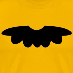 cute moustache  mustache with a nose T-Shirts - Men's Premium T-Shirt