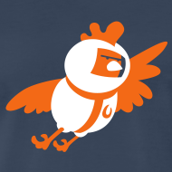 Design ~ Space Chicken (men's)