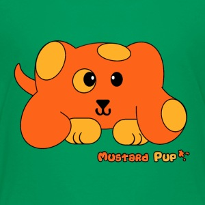 Mustard Pup Pudgie Pet - Designs by Melody Kids' Shirts - Kids' Premium T-Shirt
