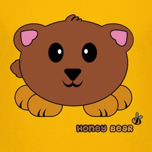 Honey Bear Pudgie Pet - Designs by Melody Kids' Shirts - Kids' Premium T-Shirt