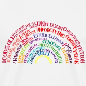 Richard Dawkins quote-rainbow by Tai's Tees - Men's Premium T-Shirt