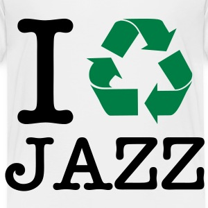 I Recycle Jazz Toddler Shirts - Toddler Premium T-Shirt