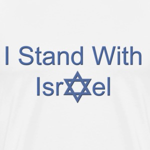 Stand With Israel T-Shirts - Men's Premium T-Shirt