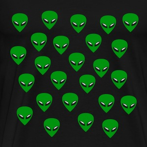 Alien Invasion - Men's Premium T-Shirt