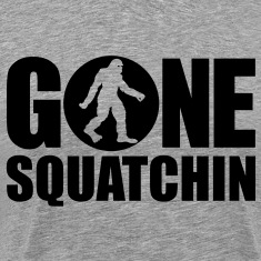 Gone Squatchin' Spotlight (Black) - Men's