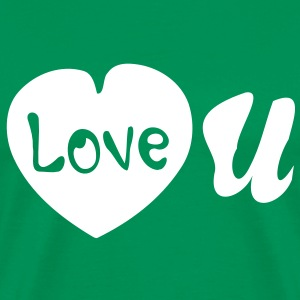 Love you Men's Heavyweight T-Shirt - Men's Premium T-Shirt