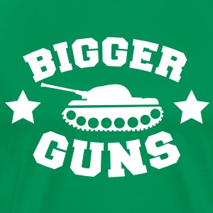 bigger guns T-Shirts - Men's Premium T-Shirt