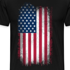 US Flag T-Shirts - Men's Premium T-Shirt