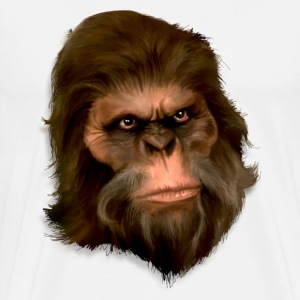 Bigfoot Digital Painting (Color) - Men's - Men's Premium T-Shirt