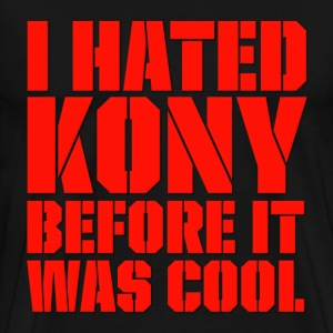 I Hated Kony Before It Was Cool T-Shirts - Men's Premium T-Shirt