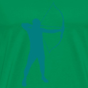 Archery male T-shirt - Men's Premium T-Shirt