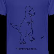 Design ~ T-Rex Flossing (Kids)
