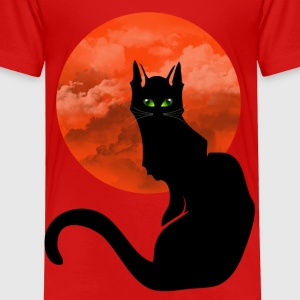 RED MOON CAT Toddler Shirts - Toddler Premium T-Shirt