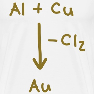 Alchemy, how to make gold T-Shirts - Men's Premium T-Shirt