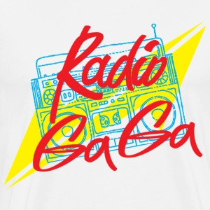 Radio Ga Ga - Men's Premium T-Shirt