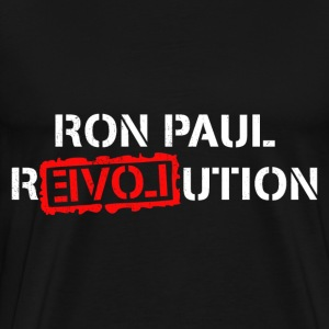 Ron Paul Revolution T-Shirt - Men's Premium T-Shirt