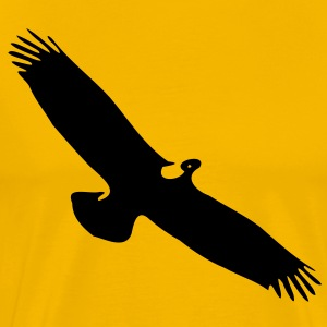 Eagle Men's Heavyweight T-Shirt - Men's Premium T-Shirt
