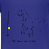 Design ~ T-Rex Tether Ball (Kids)