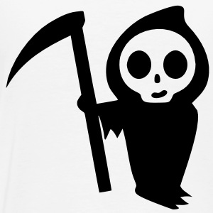 Death Ghost with a Scythe - Men's Premium T-Shirt