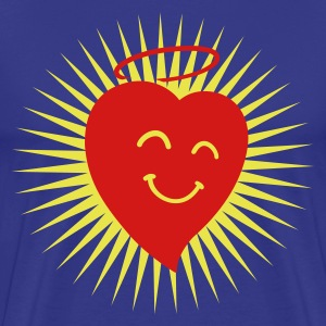 Happy Heart in Shine 2c T-Shirts - Men's Premium T-Shirt