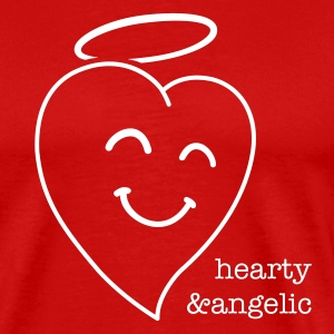 Happy Heart 1c T-Shirts - Men's Premium T-Shirt