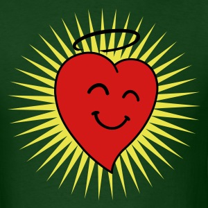 Happy Heart in Shine 3c T-Shirts - Men's T-Shirt