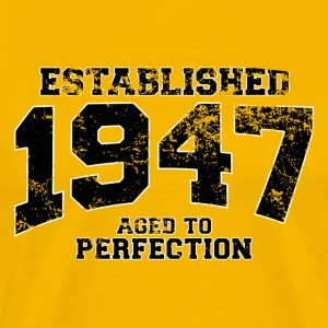 established_1947 T-Shirts - Men's Premium T-Shirt