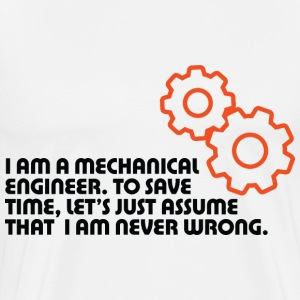 I Am A Mechanical Engineer 5 (dd)++ T-shirts (manches courtes) - T-shirt premium pour hommes