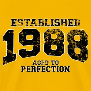 established_1988 T-Shirts - Men's Premium T-Shirt