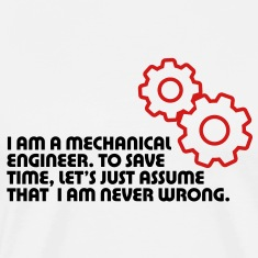 I Am A Mechanical Engineer 5 (2c)++ T-shirts (manches courtes)