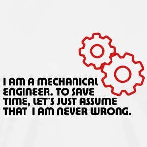 I Am A Mechanical Engineer 5 (2c)++ T-shirts (manches courtes) - T-shirt premium pour hommes
