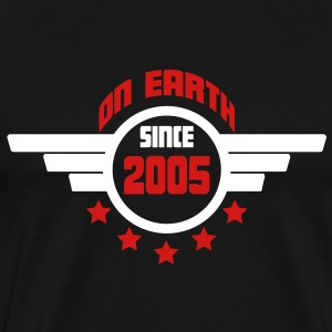 2005_on_earth T-Shirts - Men's Premium T-Shirt