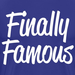 Finally Famous - stayflyclothing.com  - Men's Premium T-Shirt