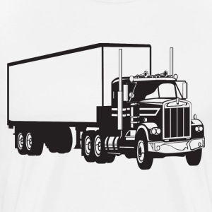 Big Truck HD Design T-Shirts - Men's Premium T-Shirt