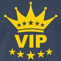 vip_king_crown T-Shirts