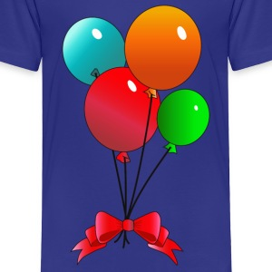 Balloons - Toddler Premium T-Shirt