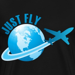 Just Fly T-Shirt - Men's Premium T-Shirt