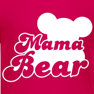 MAMA bear (new) with teddy bear shape  Kids' Shirts - Kids' Premium T-Shirt