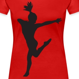 Gymnastics/Dancer - Women's Premium T-Shirt