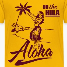 aloha - do the hula Kids' Shirts