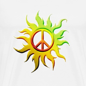 Sun Peace Tee - Men's Premium T-Shirt